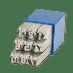 Slagstempels-nummeriek