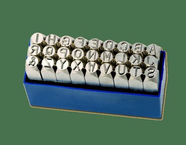 slagstempels-alfabet