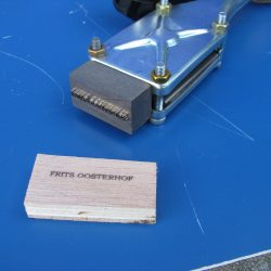 ALK Brandstempel compleet | 15 x 12 mm