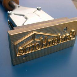 ALK Brandstempel compleet | 50 x 25 mm